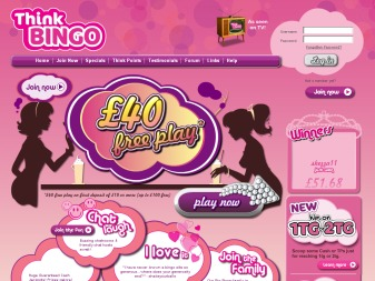 Think Bingo - Win £20,000 guaranteed every week at Think Bingo!